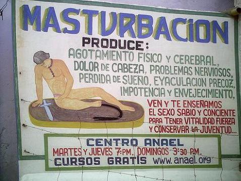 Lo malo de la masturbación