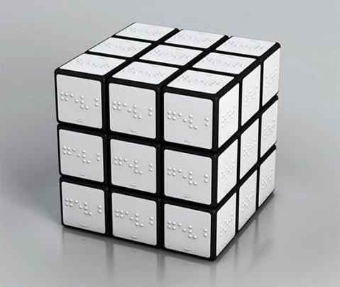 cubo rubik ciregos Cubo de Rubik para ciegos