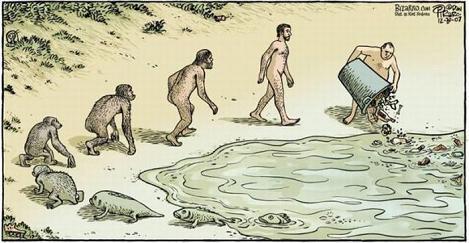 Resultado de imagen para humanos contaminando