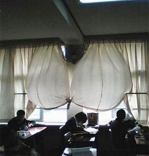 Cortinas con forma de sujetador - Formas de cortinas ...