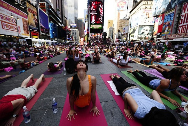 yoga nueva york 1 Yoga en Nueva York