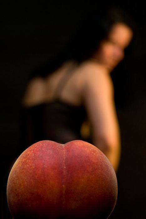 Fruta en el culo