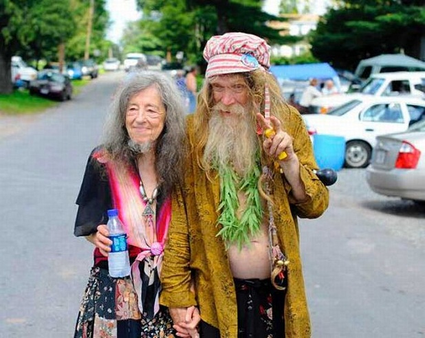 Abuelos hippies