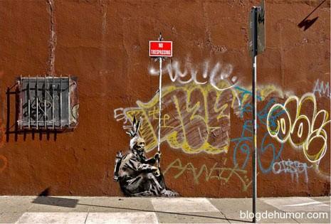 grafitis de humor: