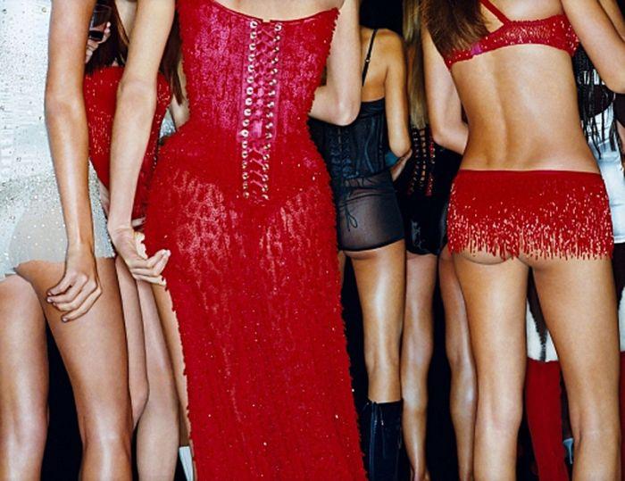 Si tienes la suerte de poder ir a una fiesta donde haya muchas modelos ...