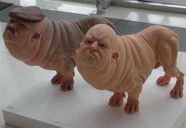 Perro humano