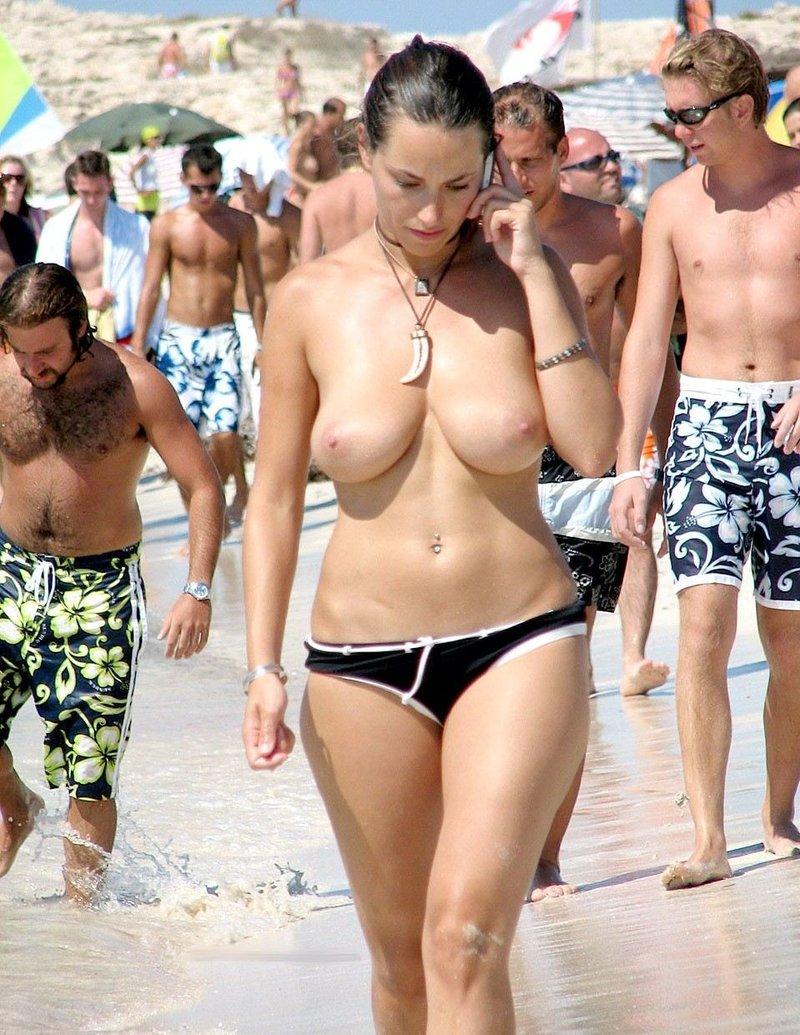 Chicas Desnudas Playa
