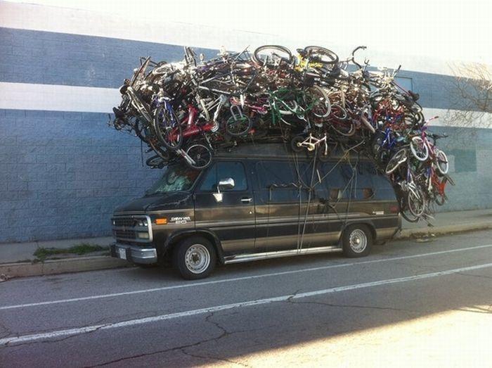transportar bicicletas Cómo transportar bicicletas