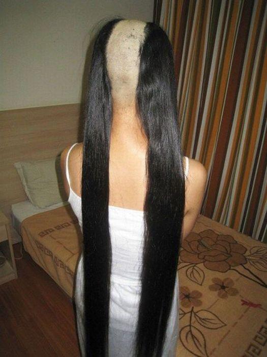 peinado melena Peinado a doble melena