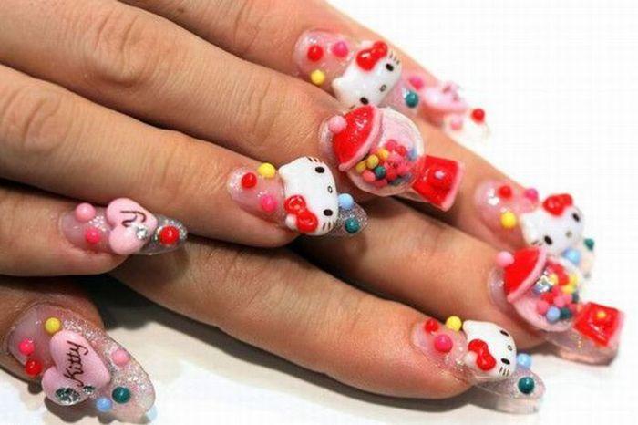 ... te encantará tener las uñas decoradas con sus dibujos animados