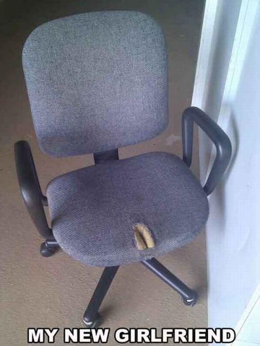 silla novia Mi nueva novia es una silla