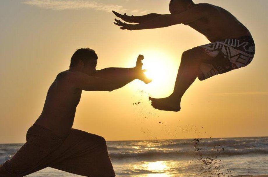 Vídeos y fotos de risa. Kamehameha-en-la-playa
