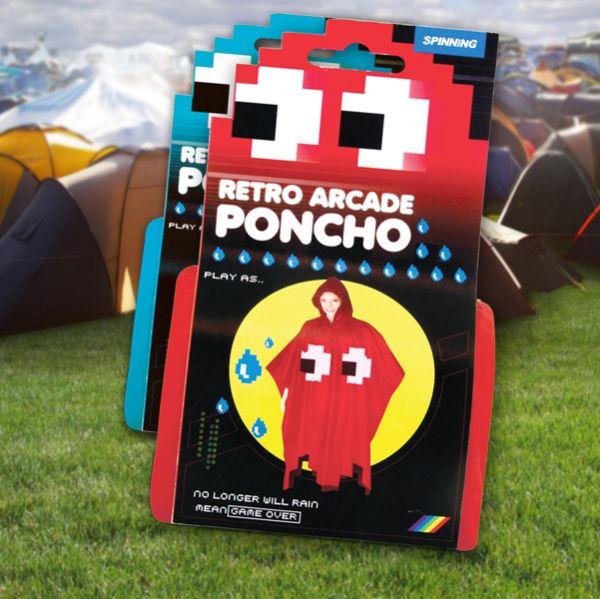 poncho para convertirte en un fantasma de pac man2 Poncho para convertirte en un fantasma de Pac Man