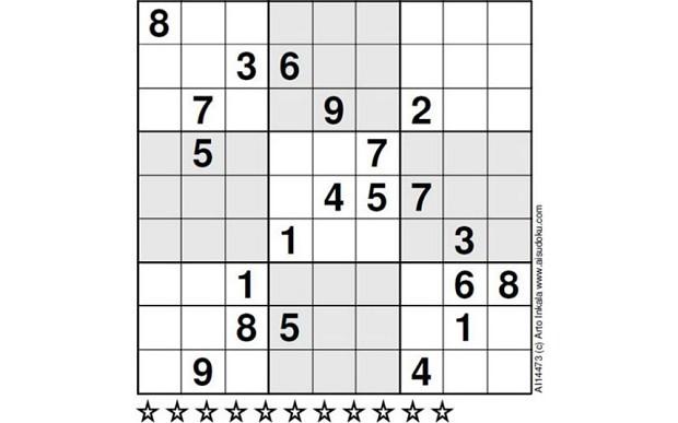 el sudoku mas dificil del mundo El sudoku más difícil del mundo