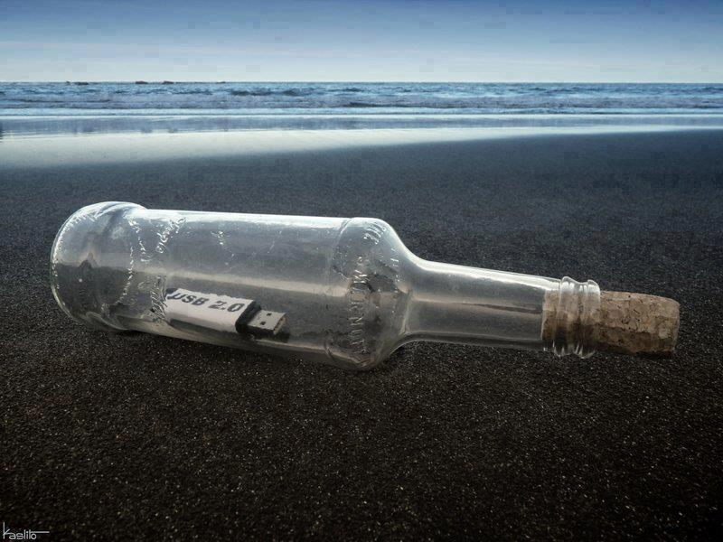 Funny Messages in Bottles