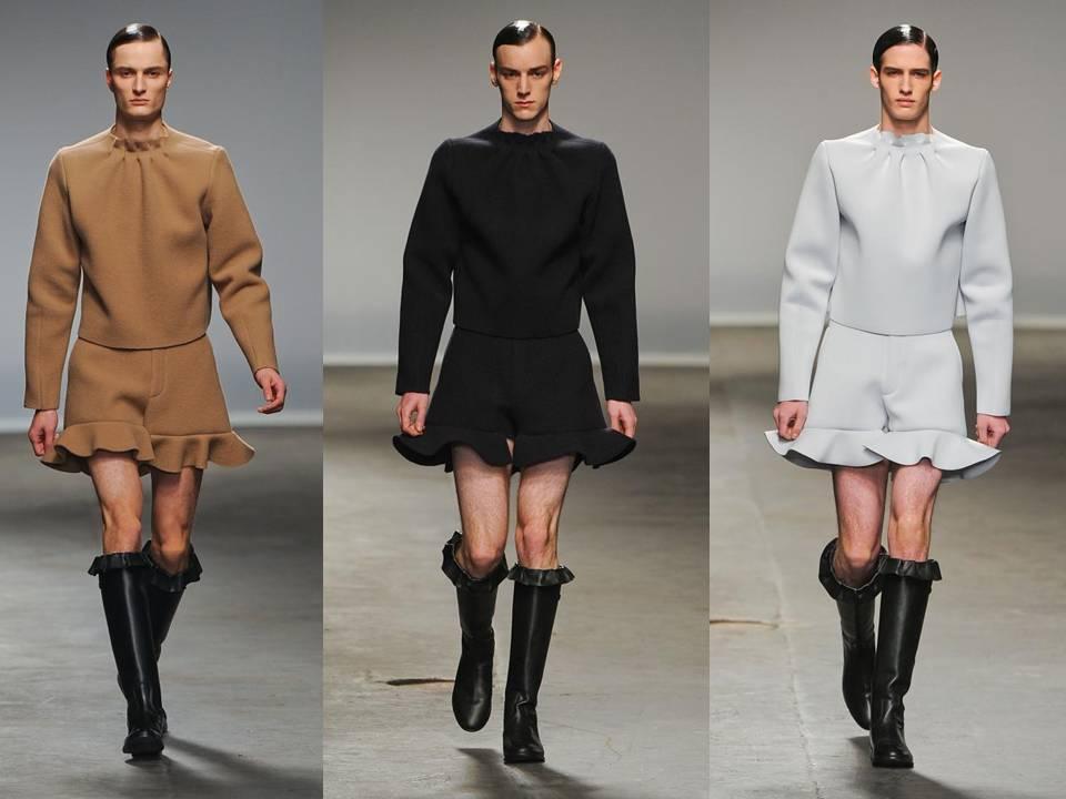 ... no se convierta en la nueva moda para hombres . ¡Qué ridículo
