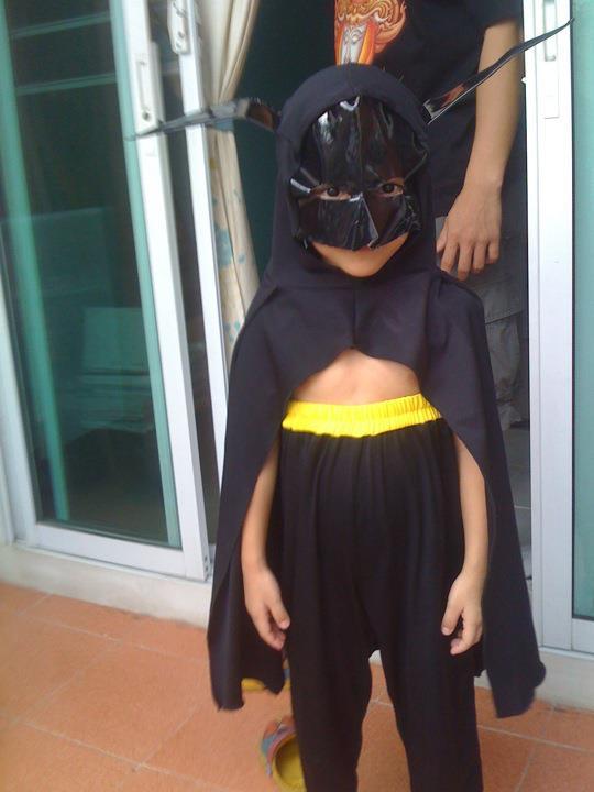 El peor disfraz de Batman de la historia