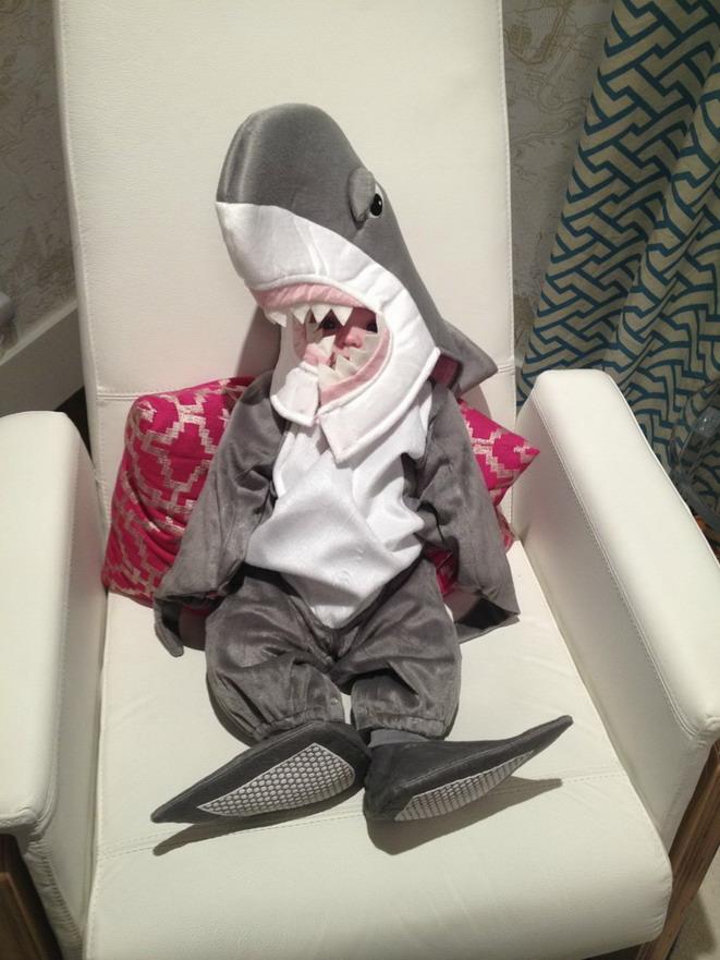 Disfraz de tibur n para ni o - Disfraces de gatos para ninos ...