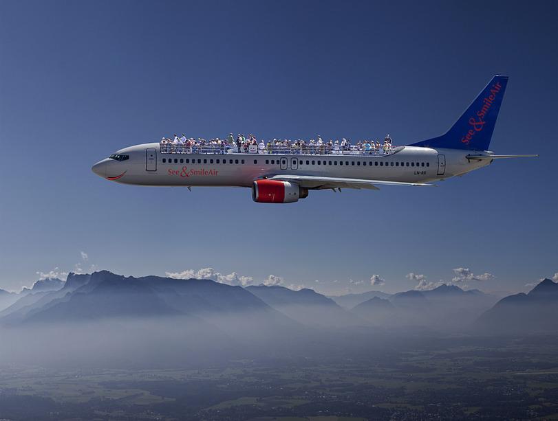 Avión Con Terraza