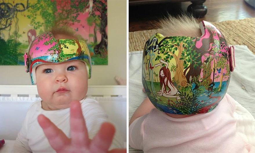 cascos divertidos para bebes 14