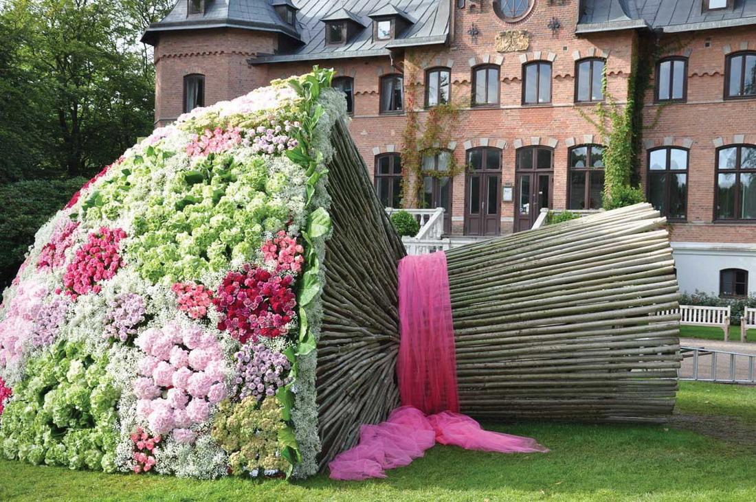 Ramo de flores enorme