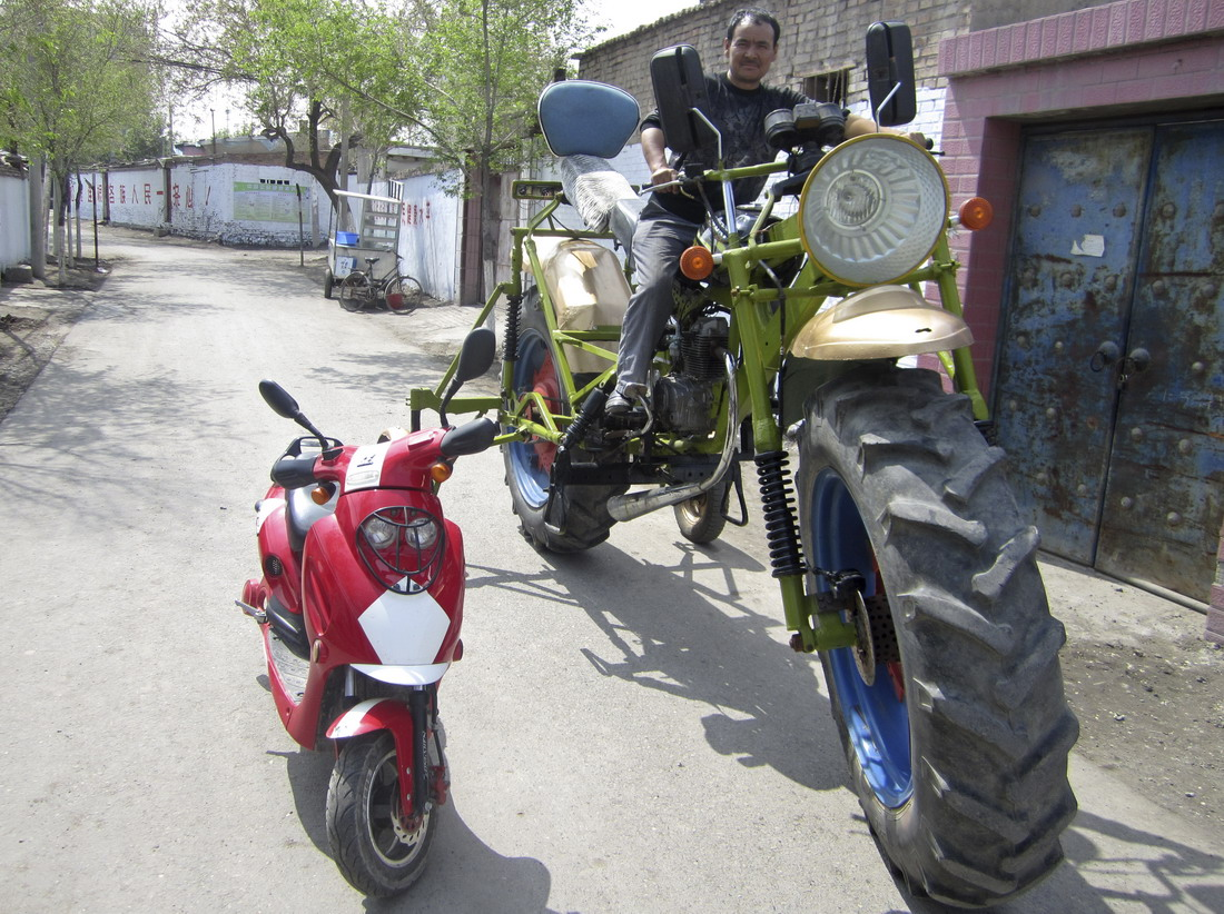 la moto mas grande del mundo