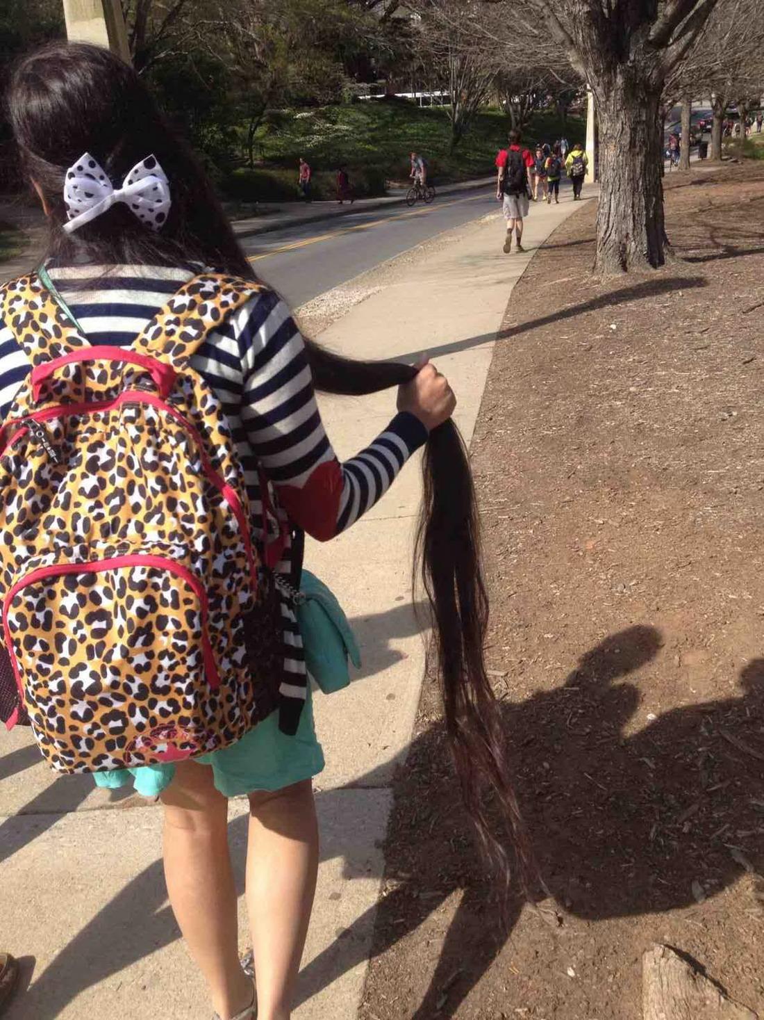pelo extra largo