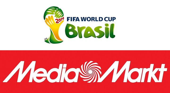 mundial de brasil y logo media markt