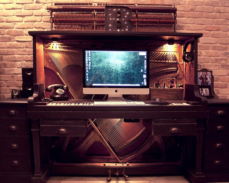 un escritorio diferente