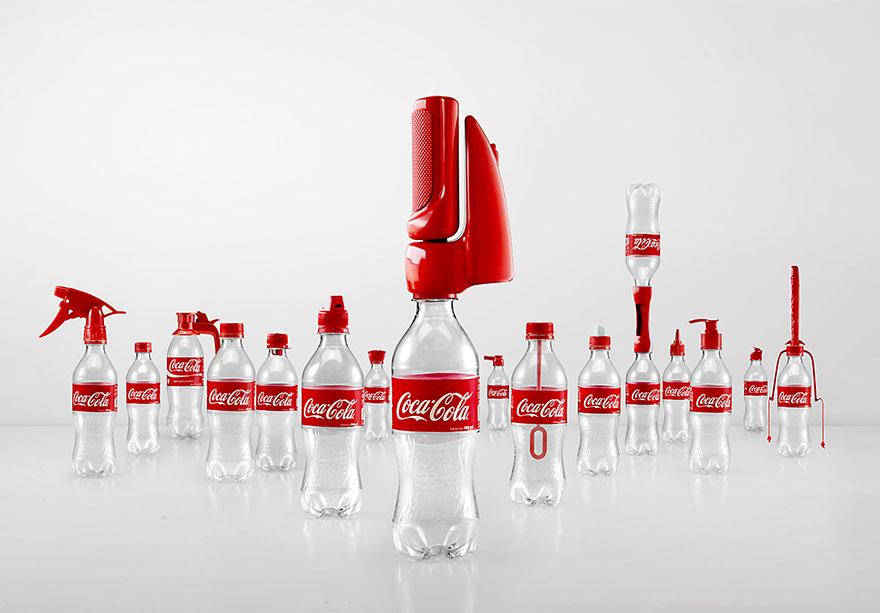 Coca-Cola reutilizar botellas