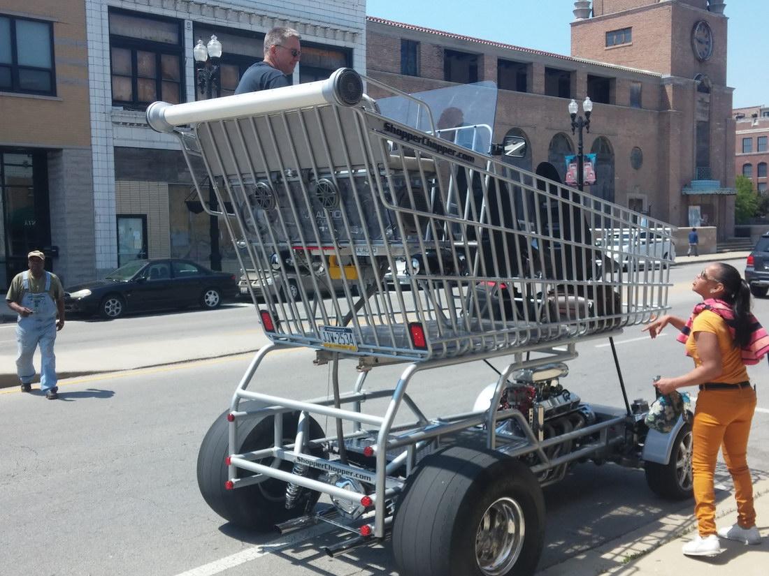 carro de la compra motorizado