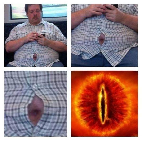 el ojo rojo de Sauron