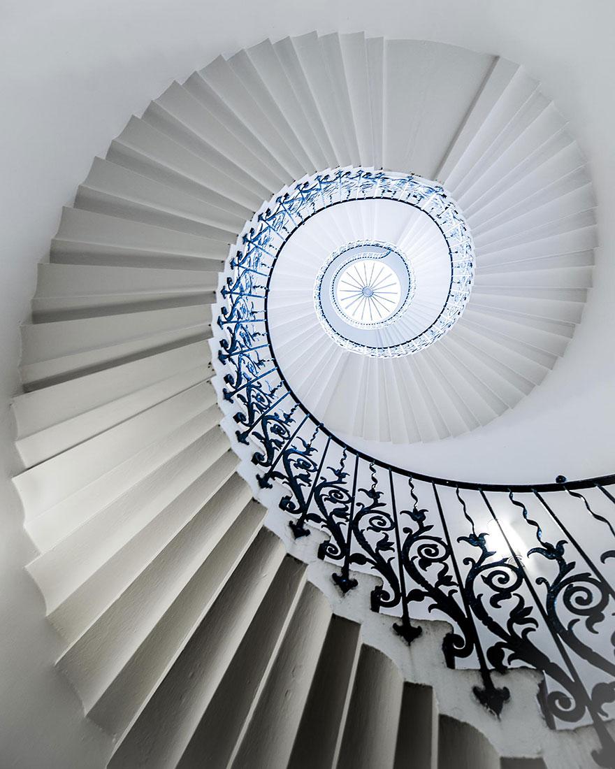 Espectaculares escaleras de caracol - Imagenes de escaleras de caracol ...