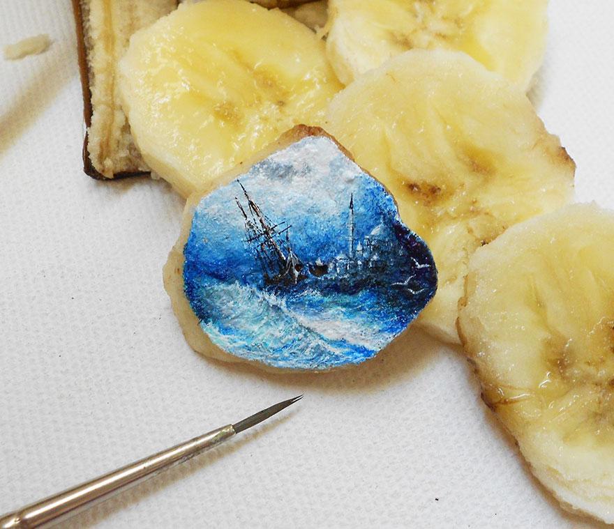 fragmentos de comida pintados 15