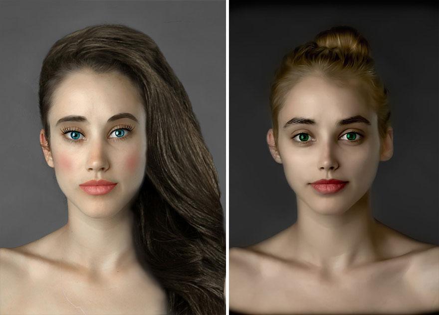 mujer Photoshop Estados Unidos