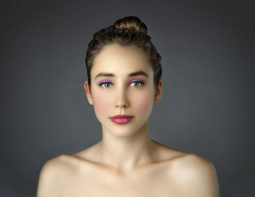 mujer Photoshop Grecia