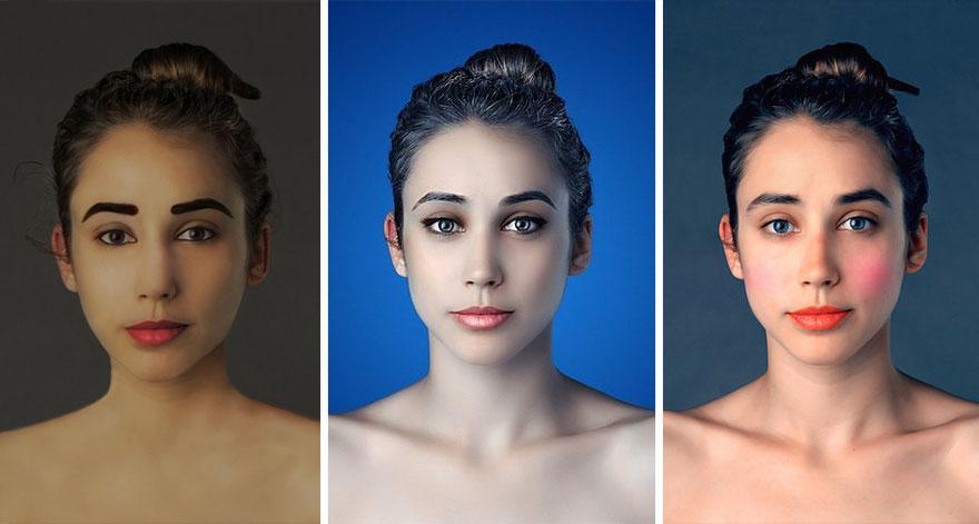 mujer Photoshop India