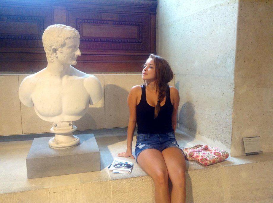 seduciendo a un busto