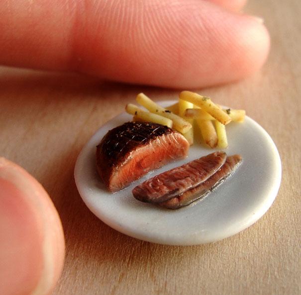 comida en miniatura 14