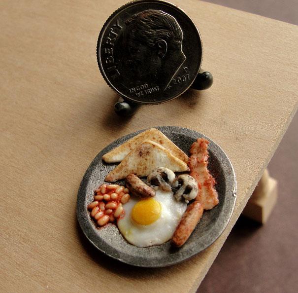 comida en miniatura 8