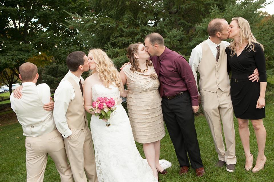 consuelo en una boda