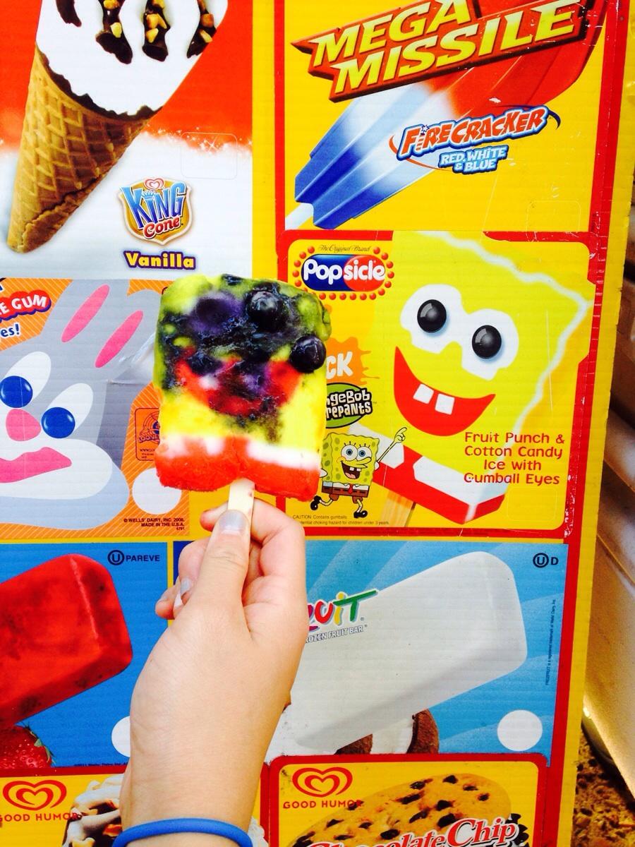 helado de Bob Esponja
