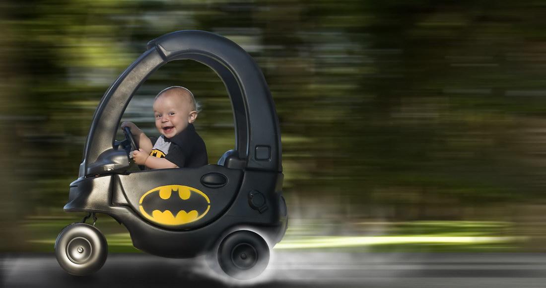Batmovil bebe