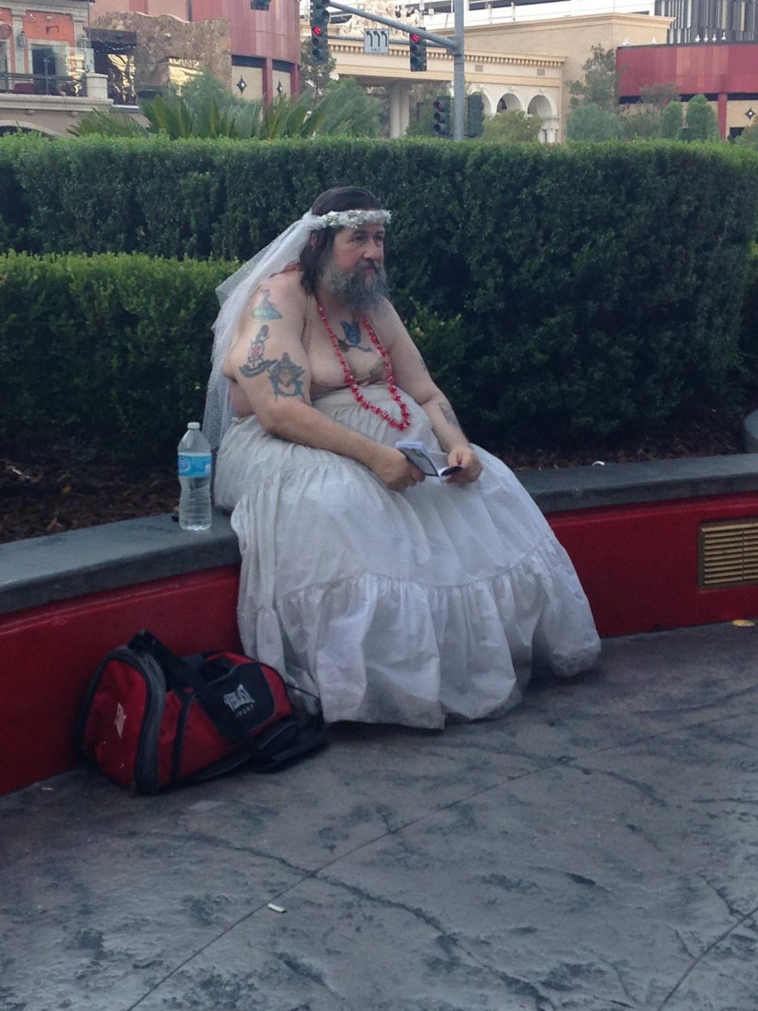 novia fea