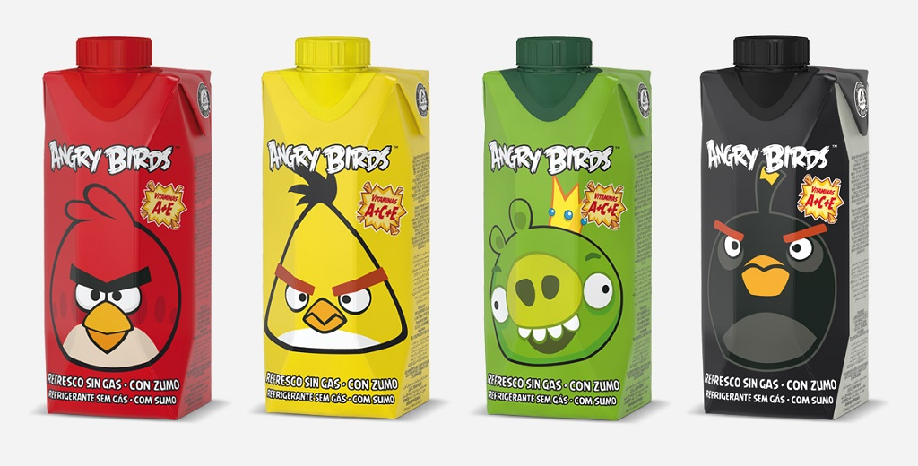 Angry Birds Juver