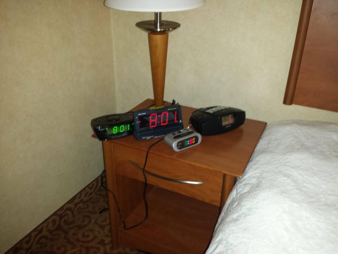 cuatro despertadores son suficientes