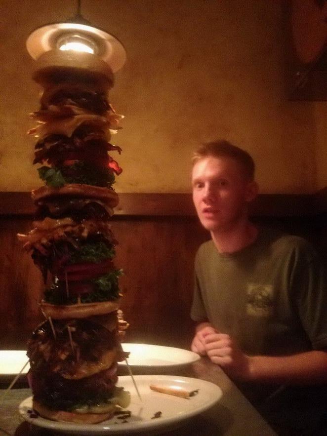 hamburguesa para 20