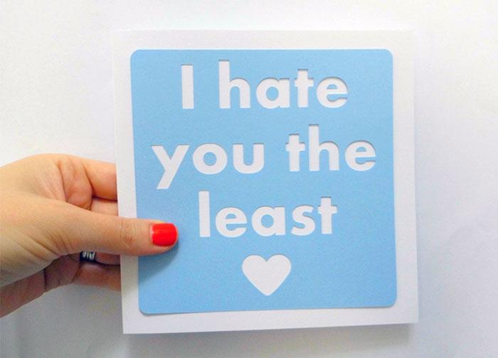 tarjetas con mensajes de amor odio 6