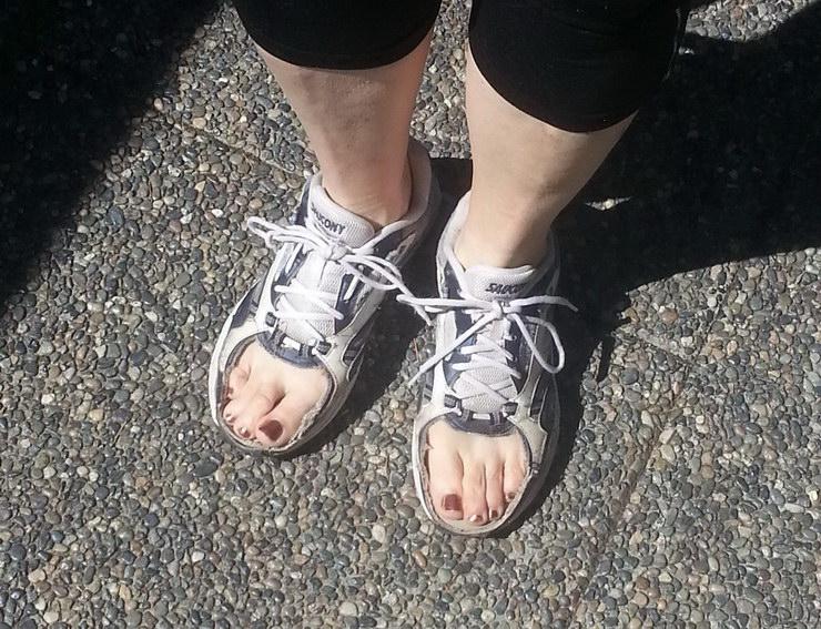 transformar una zapatillas de running en unas zapatillas de verano