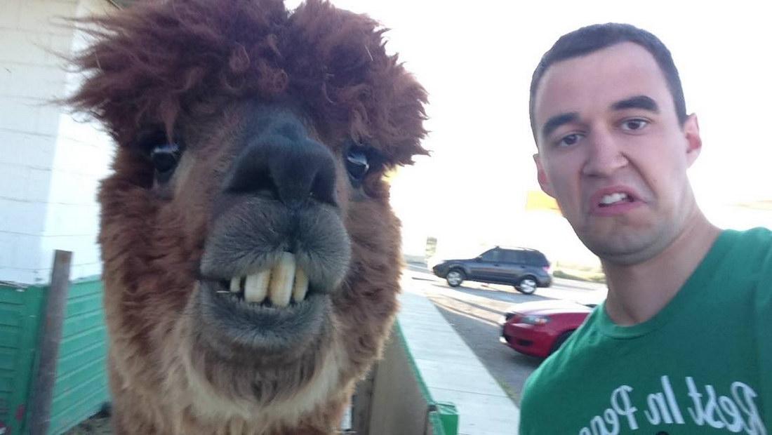 selfie bestial